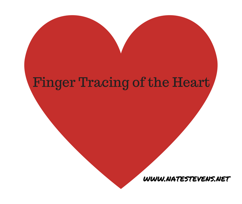 Finger Tracing of the Heart
