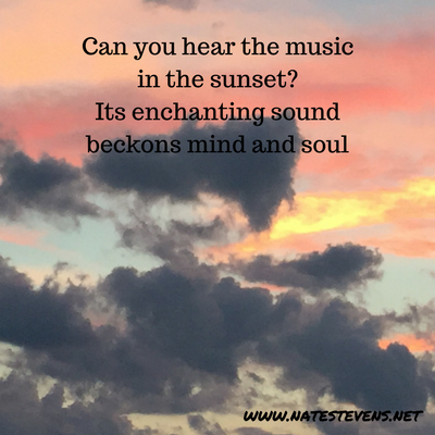 Hearing the Music in Each Sunset