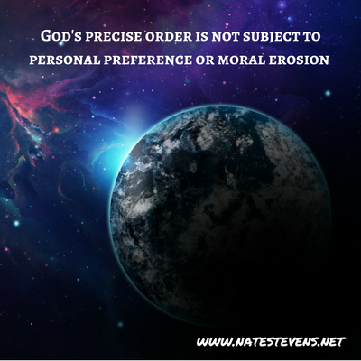 God's Unchanging Order, Specificity, and Consistency