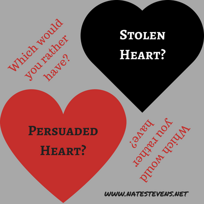 The Difference Between Stolen and Persuaded Hearts