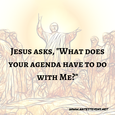 2nd Question Jesus Asks (From the Gospel of John)