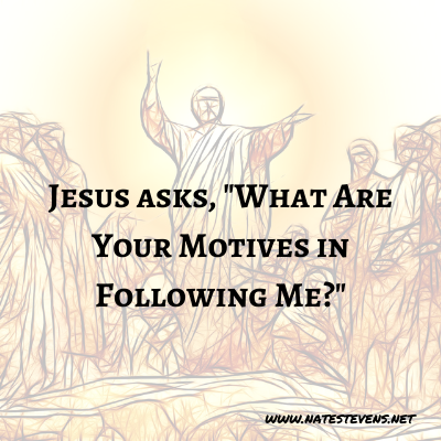 1st Question Jesus Asks (From the Gospel of John)