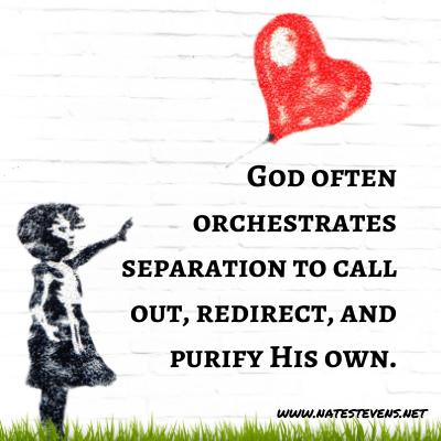 God's Supernatural Separation – Defined