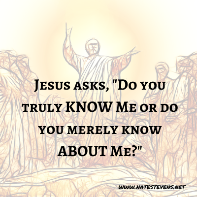 16th Question Jesus Asks (From the Gospel of John)