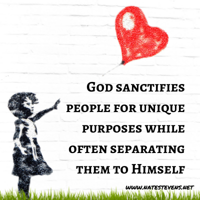 God's Supernatural Separation – Sanctified