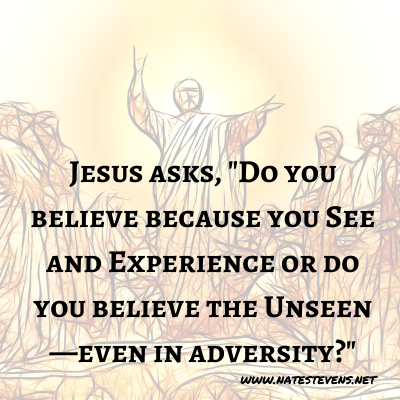 18th Question Jesus Asks (From the Gospel of John)