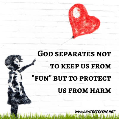 God's Supernatural Separation – From the World