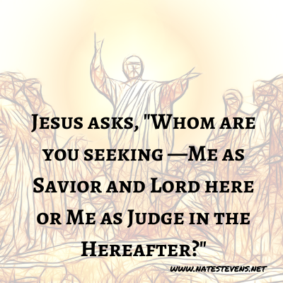 19th Question Jesus Asks (From the Gospel of John)