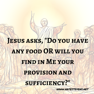 24th Question Jesus Asks (From the Gospel of John)