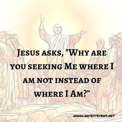 23rd Question Jesus Asks (From the Gospel of John)